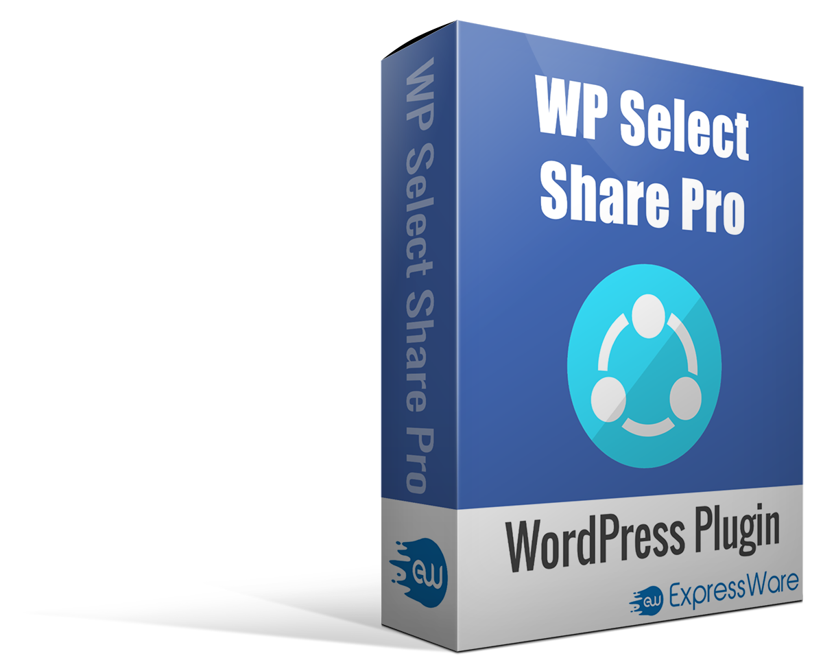 WP Select Share Pro